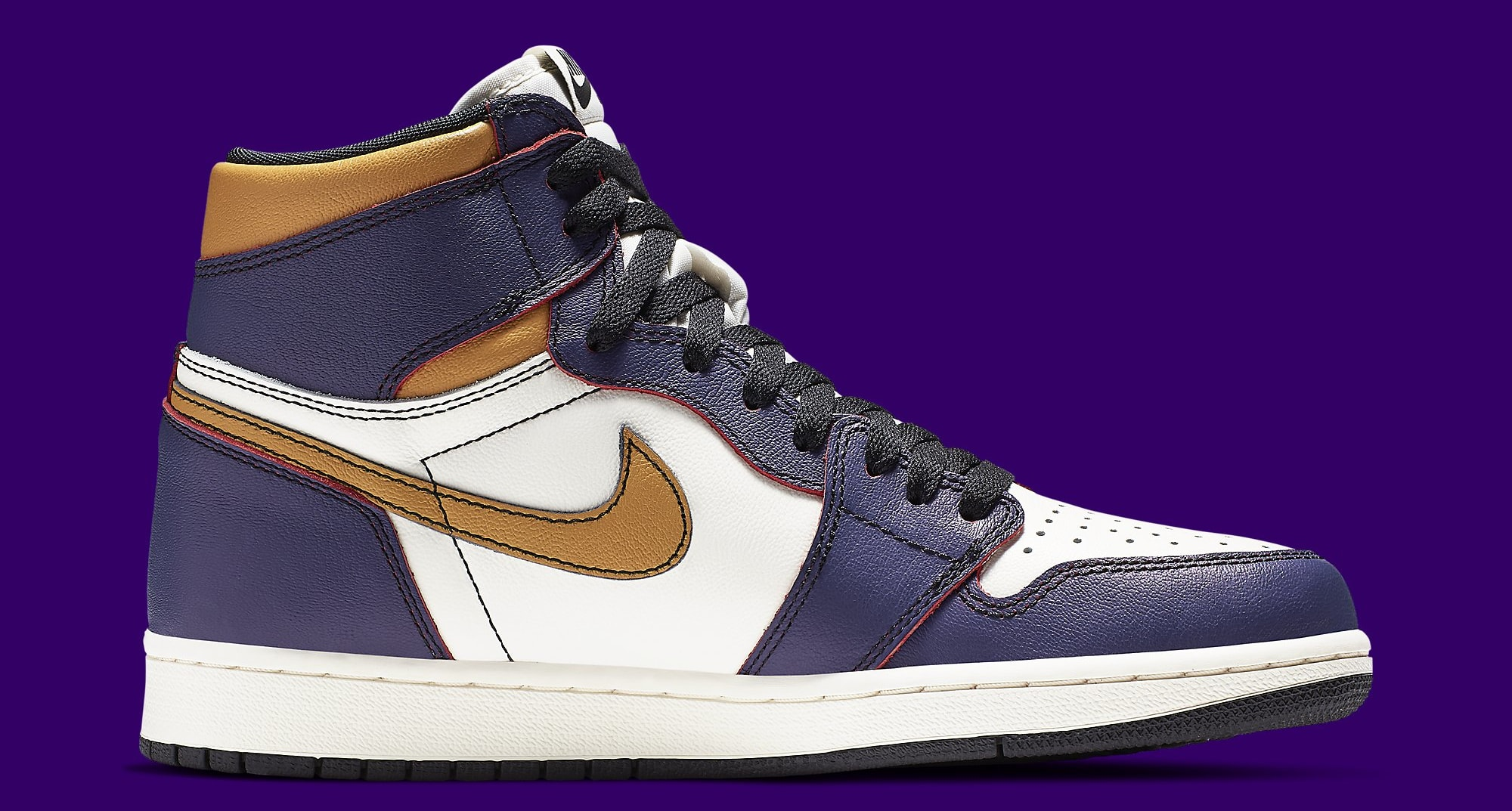 e17776c5b8c Image via Nike Nike SB x Air Jordan 1 High 'LA to Chicago' CD6578-507 Medial