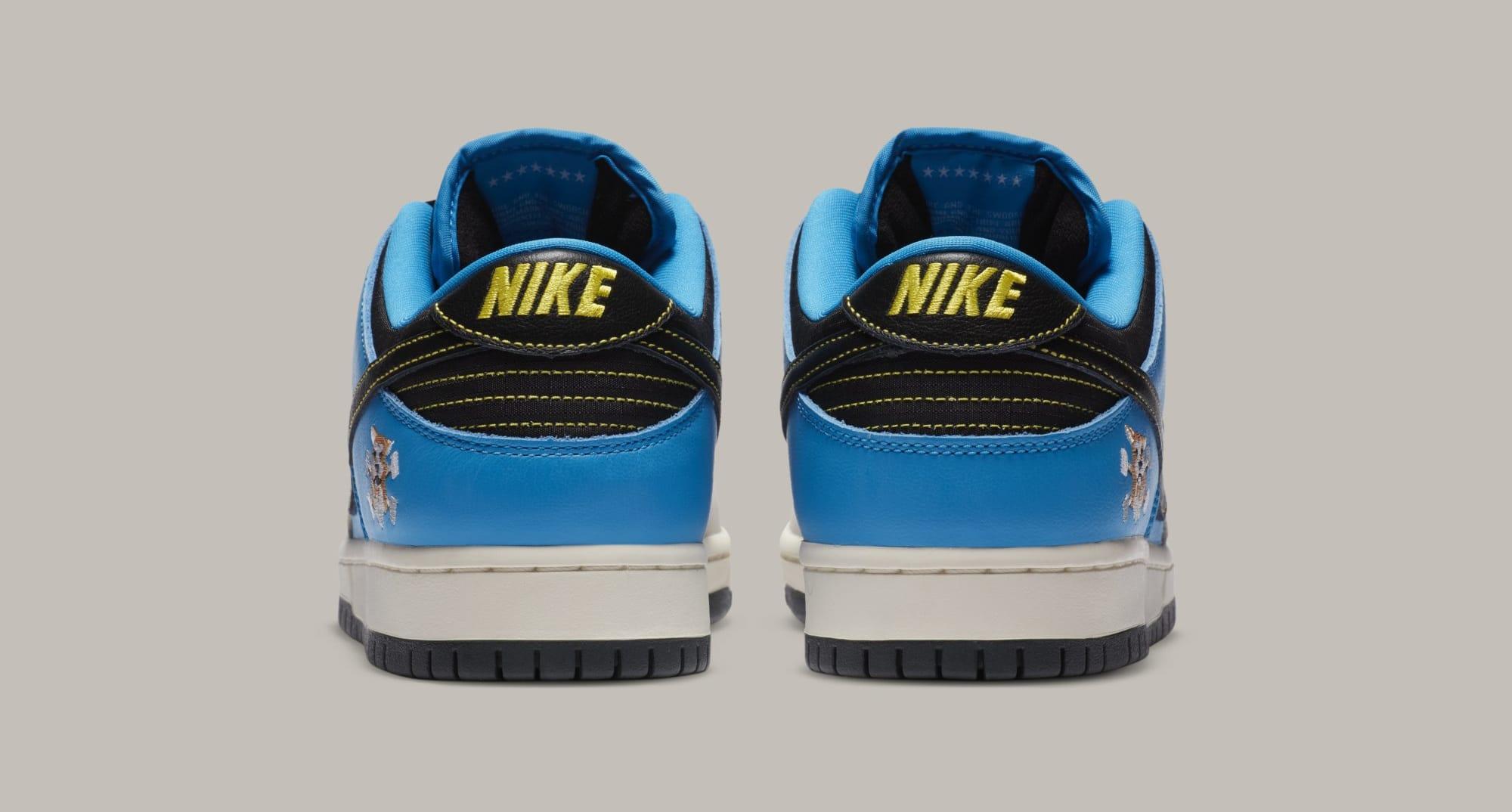 Instant Skateboards x Nike SB Dunk Low CZ5128-400 Heel