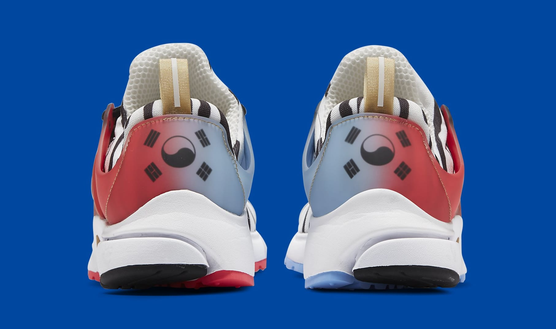 Nike Air Presto 'South Korea' CJ1229-100 Heel