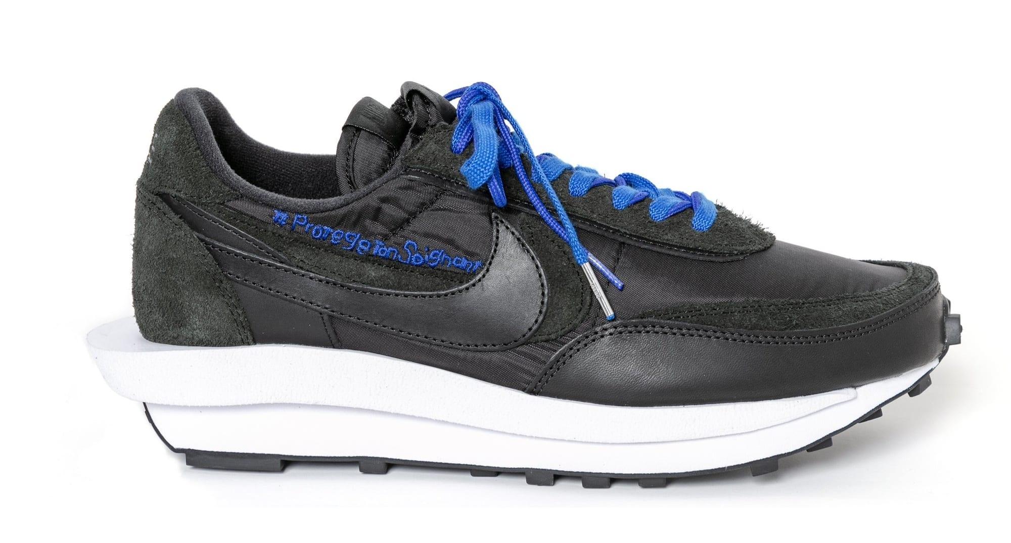 Sacai x Nike LDWaffle Black Custom Coronavirus Relief