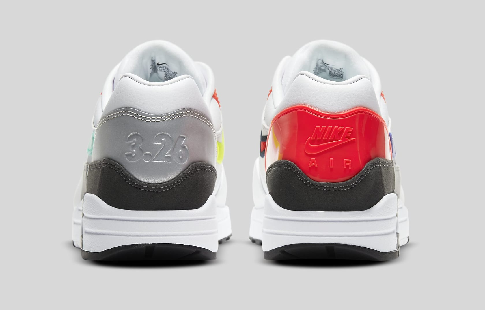 Nike Air Max 1 'Evolutions of Icons' CW6541-100 Heel