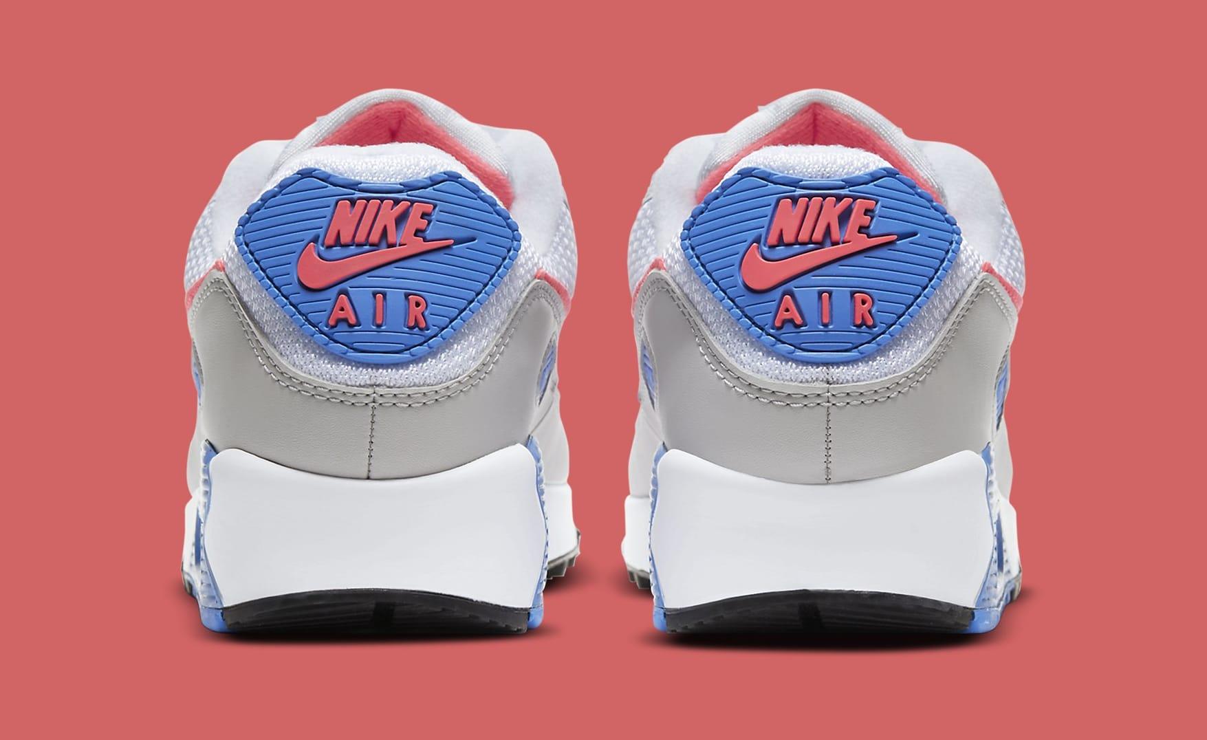 Nike Air Max 90 'Hot Coral' DA8856-100 (Heel)