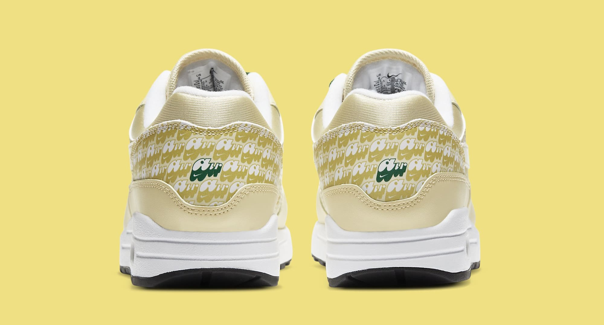 Nike Air Max 1 'Lemonade' CJ0609-700 Heel