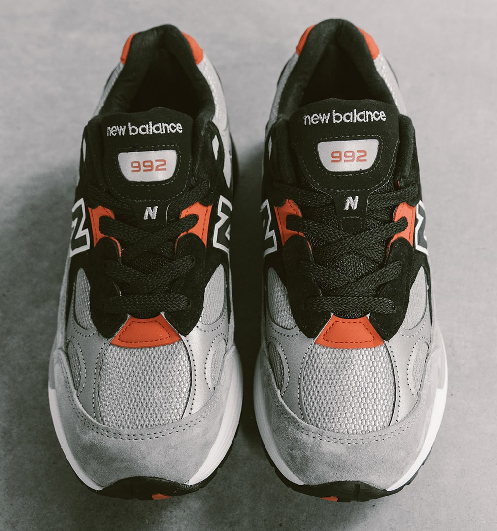DTLR Villa x New Balance 992 'Discover and Celebrate' Front