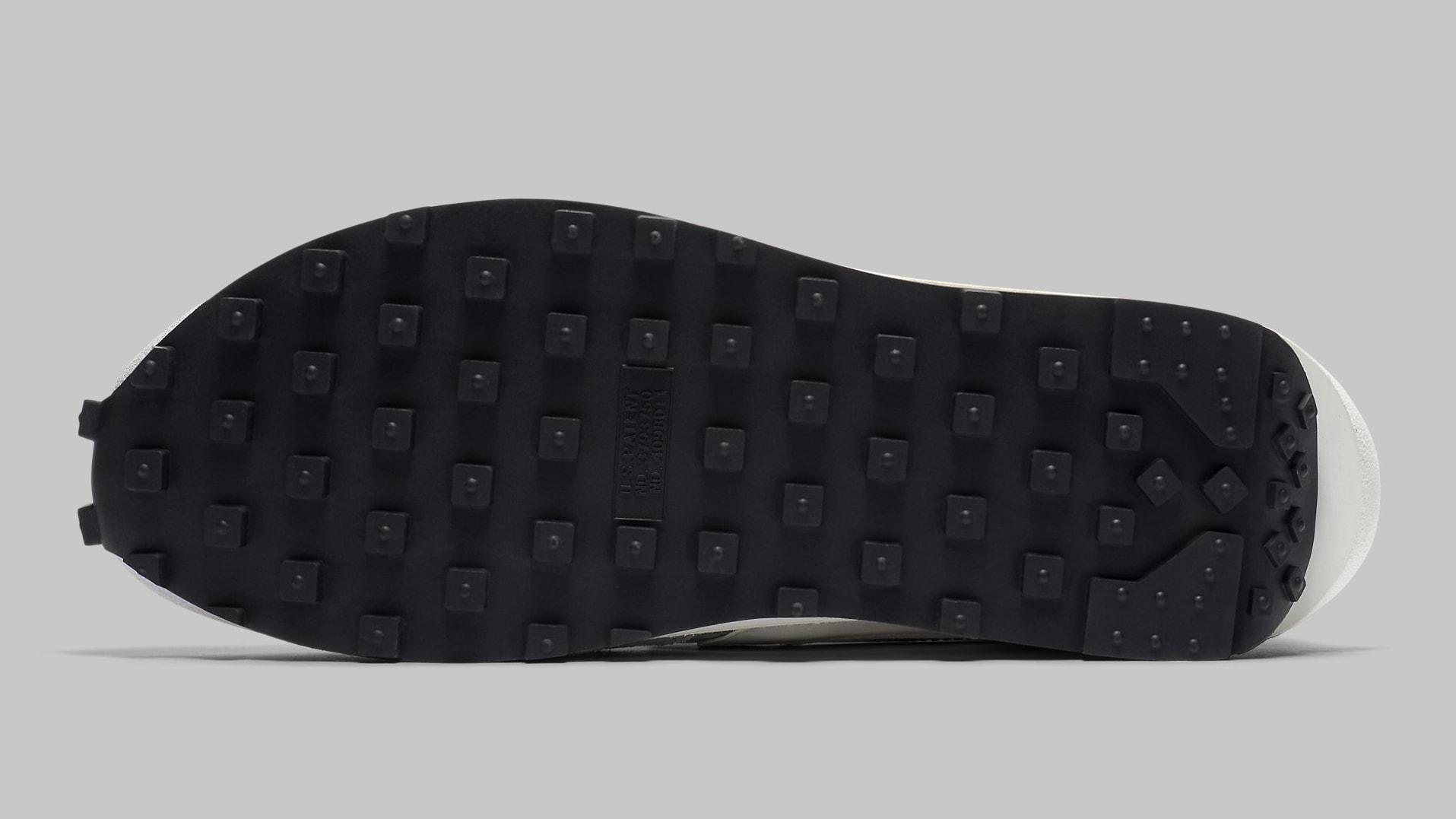 Sacai Nike LDWaffle Summit White Wolf Grey Release Date BV0073-100 Sole