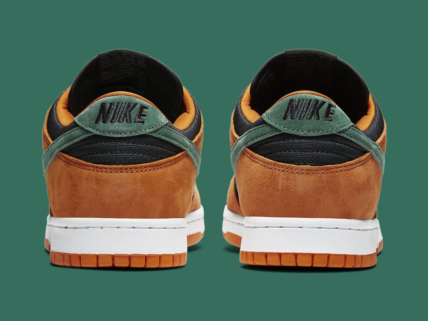 Nike Dunk Low Ceramic Release Date DA1469-001 Heel