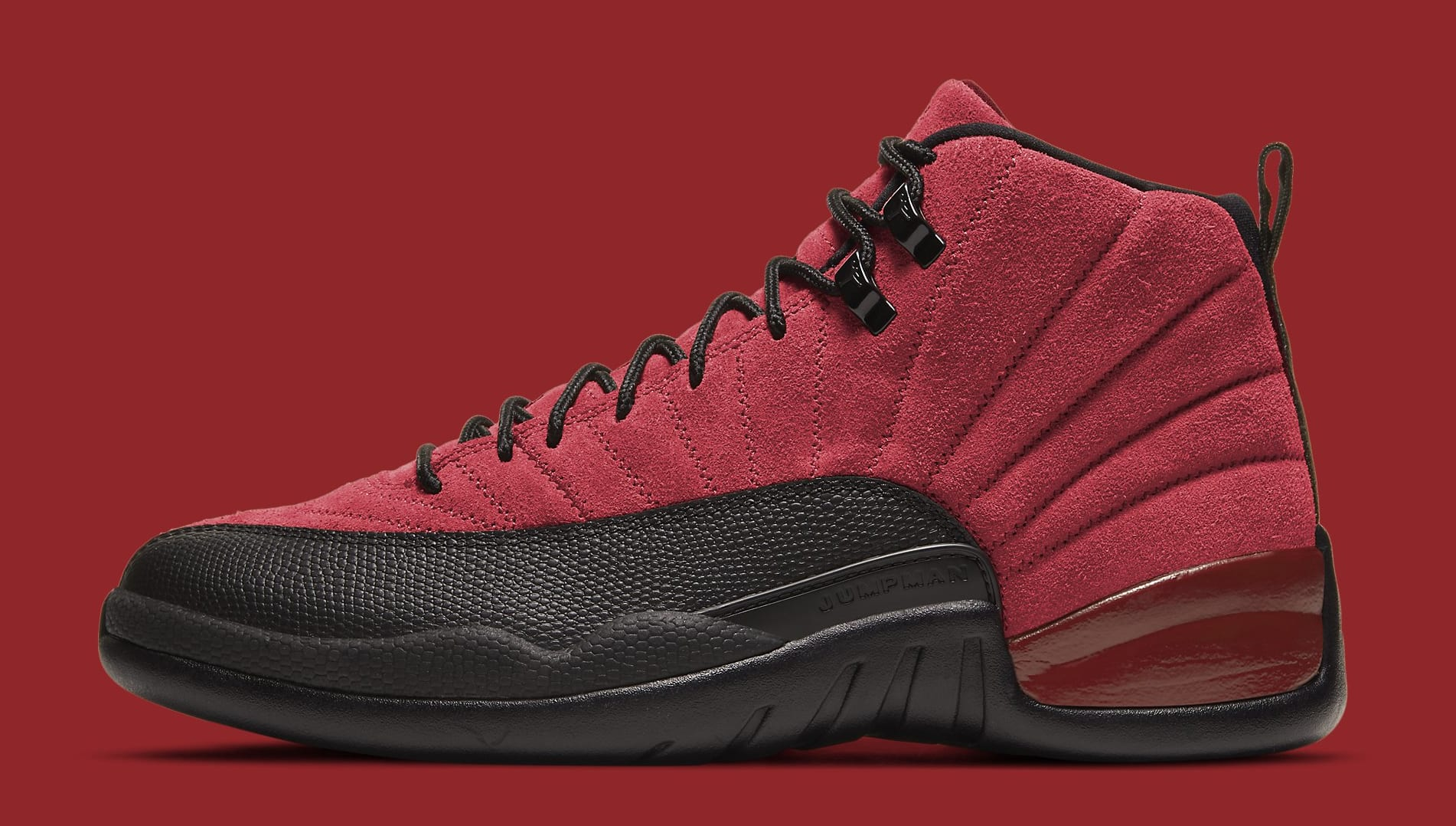 Air Jordan 12 Retro 'Reverse Flu Game' CT8013-602 Lateral