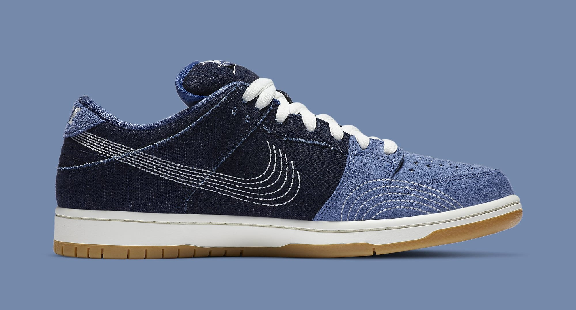 Nike SB Dunk Low 'Sashiko' CV0316-400 Medial
