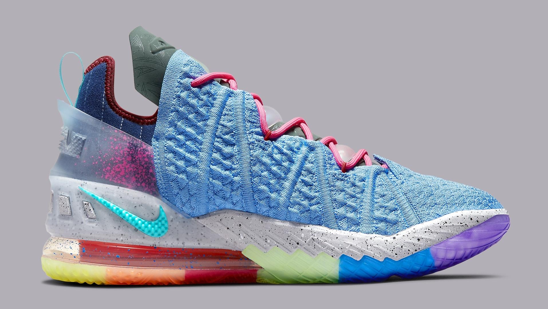 Nike LeBron 18 'Best 1-9' DM2813 400 Medial