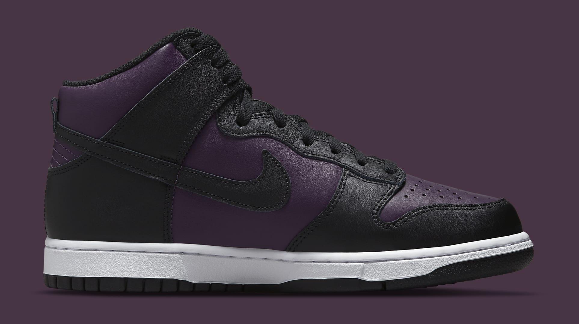 Fragment Design x Nike Dunk High 'Black' DJ0382-600 Medial