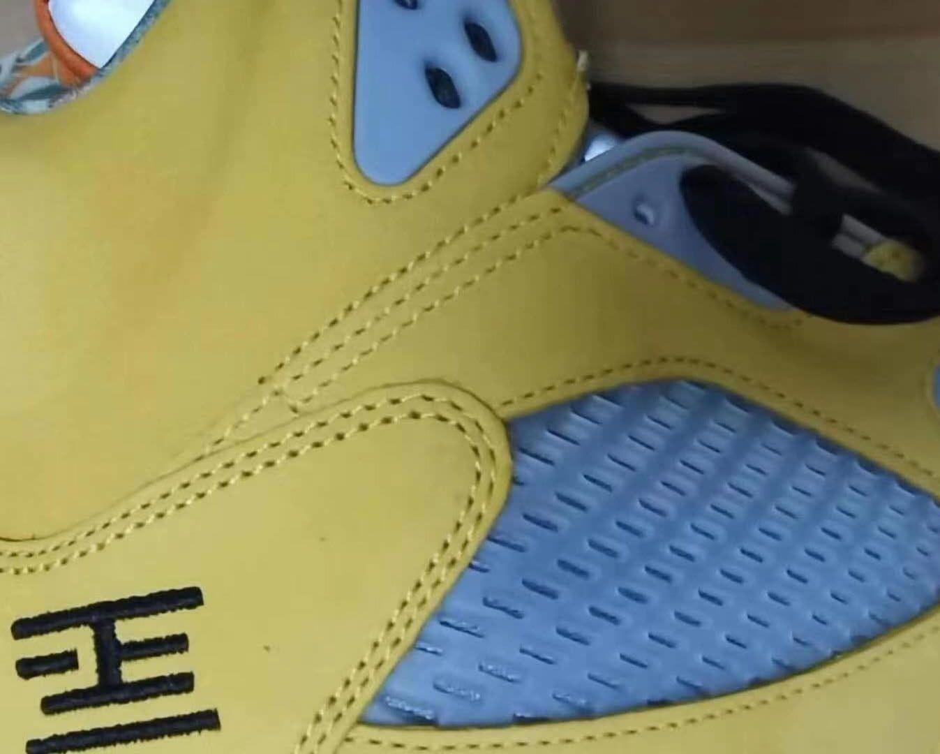 Air Jordan 5 Retro 'What The' First Look Lateral