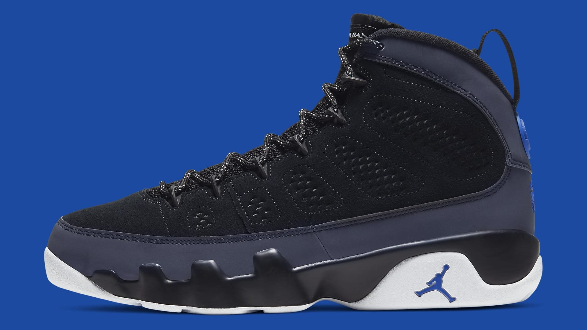 Air Jordan 9 Racer Blue Release Date CT8019-024 Profile