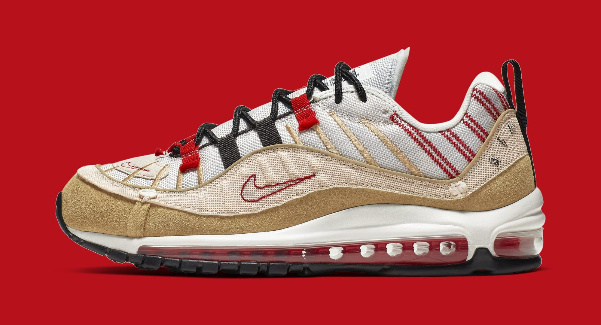 Nike Air Max 98 'Inside Out' AO9380-003 (Lateral)