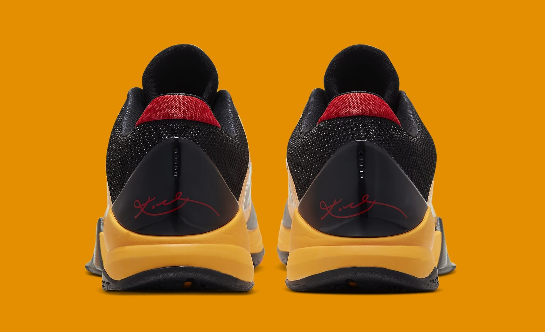 Nike Kobe 5 Protro 'Bruce Lee' CD4991-700 Heel