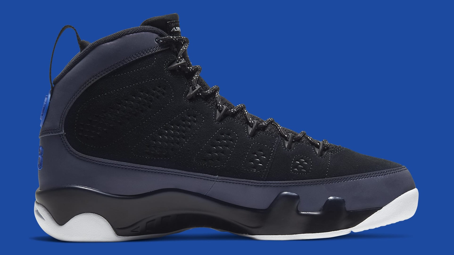 Air Jordan 9 Racer Blue Release Date CT8019-024 Medial