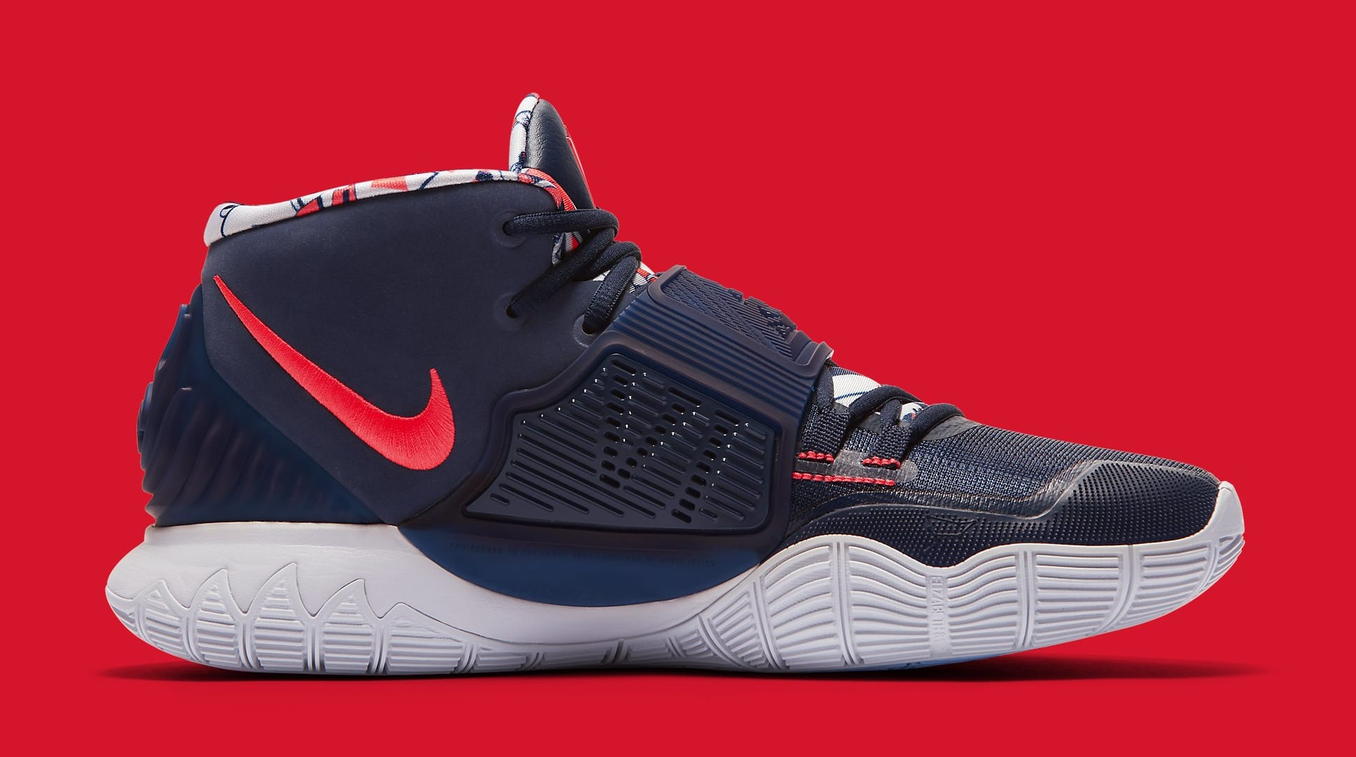 Nike Kyrie 6 'Midnight Navy' BQ4630-402 Medial