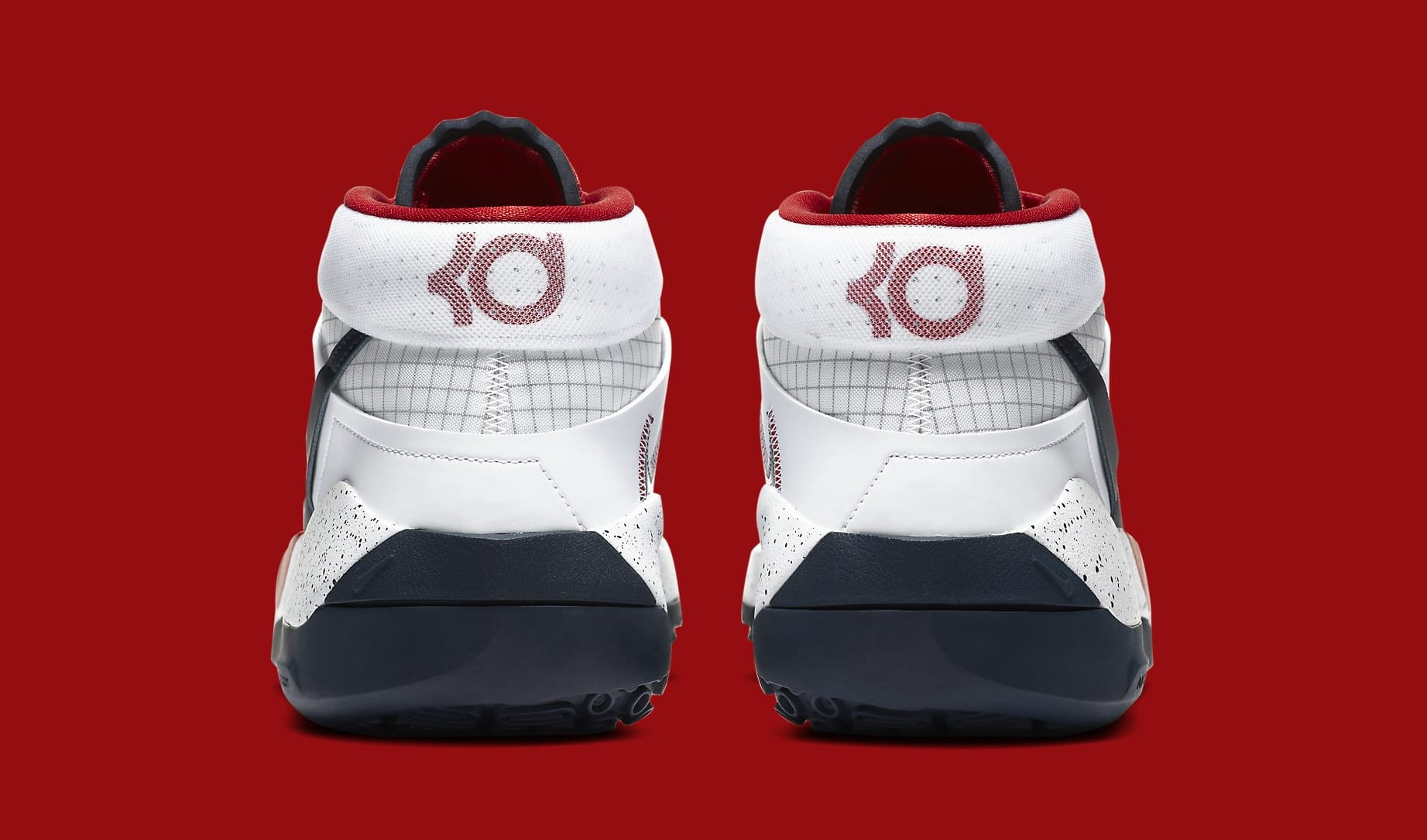 Nike KD 13 'USA' CI9949-101 Heel