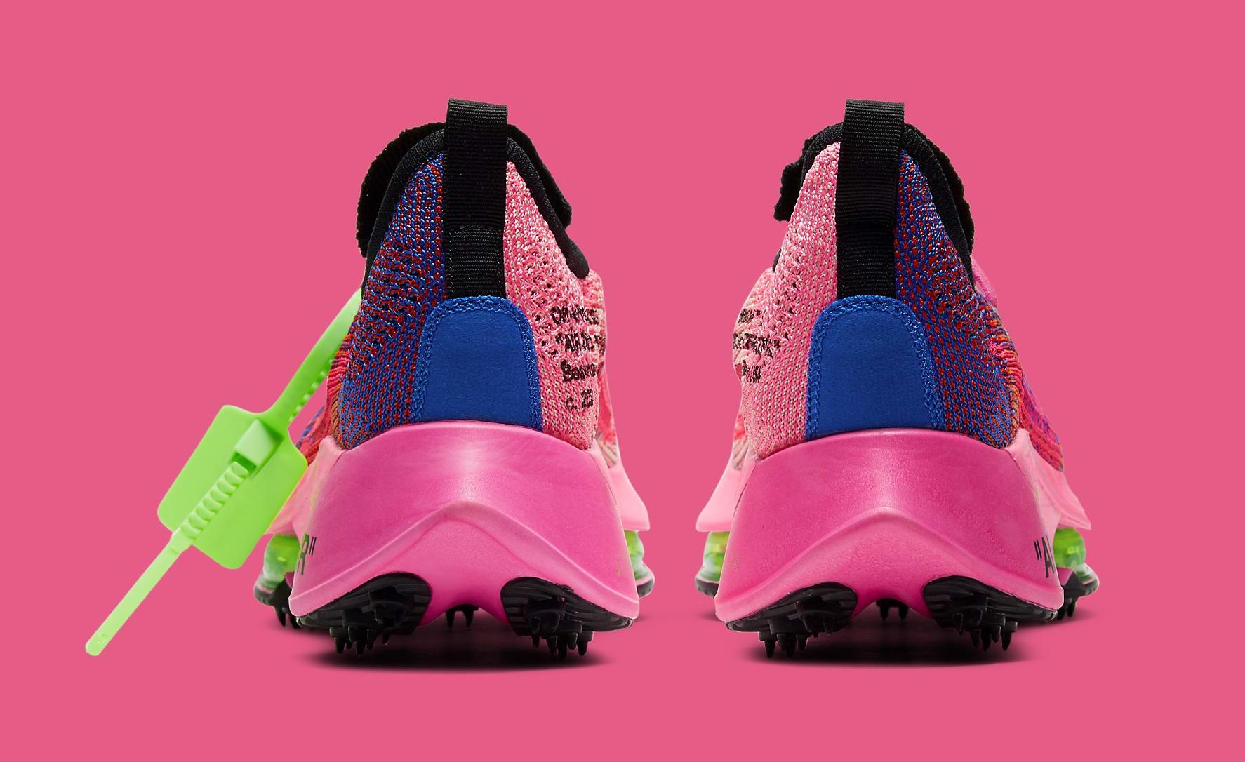 Off-White x Nike Air Zoom Tempo Next% CV0697-400 Heel