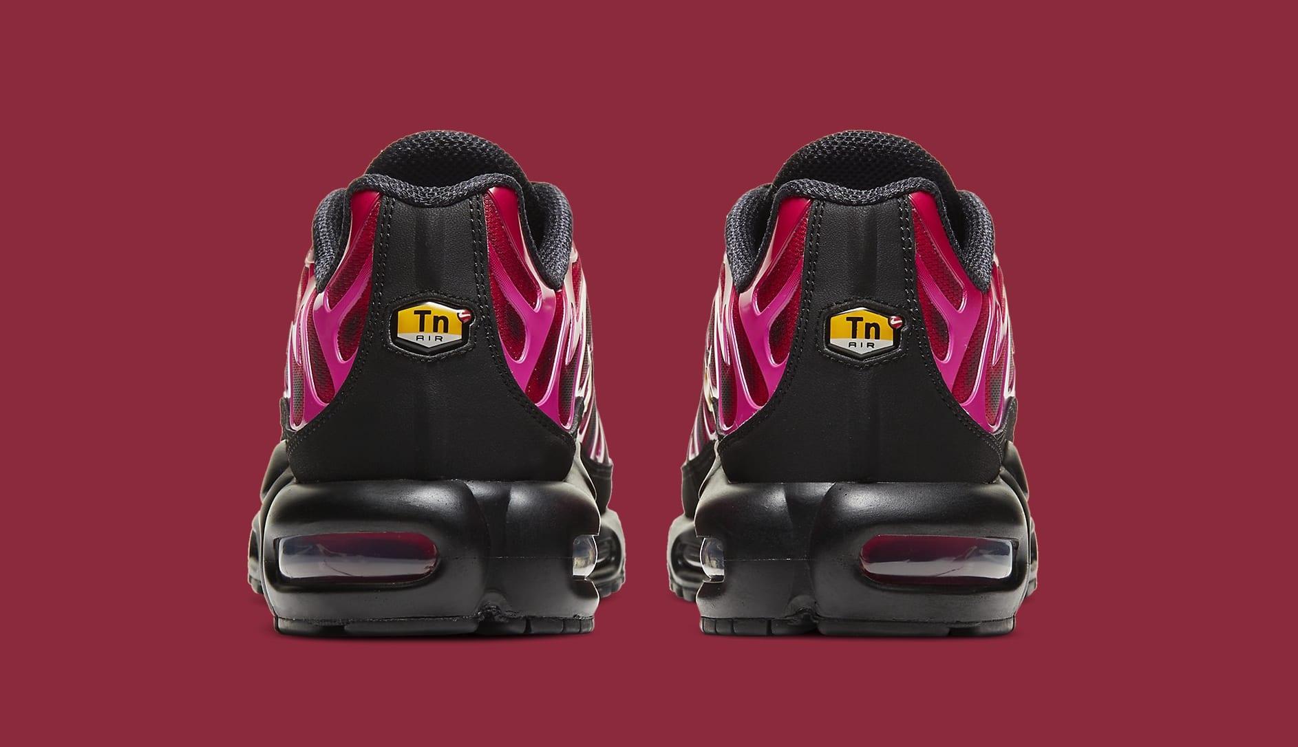 Supreme x Nike Air Max Plus 'Fire Red' DA1472-600 Heel