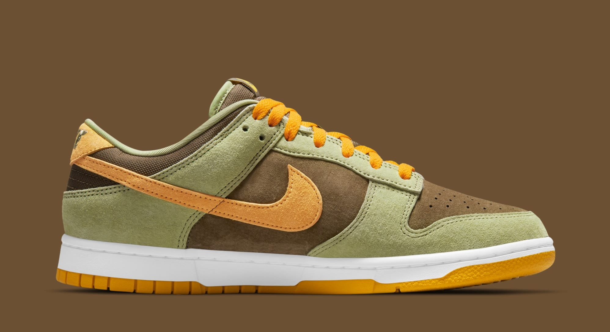 Nike Dunk Low 'Dusty Olive' DH5360-300 (Medial)