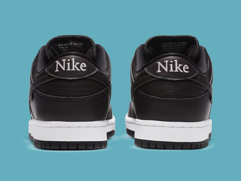 Civilist x Nike SB Dunk Low Heat Map Release Date CZ5123-001 Heel