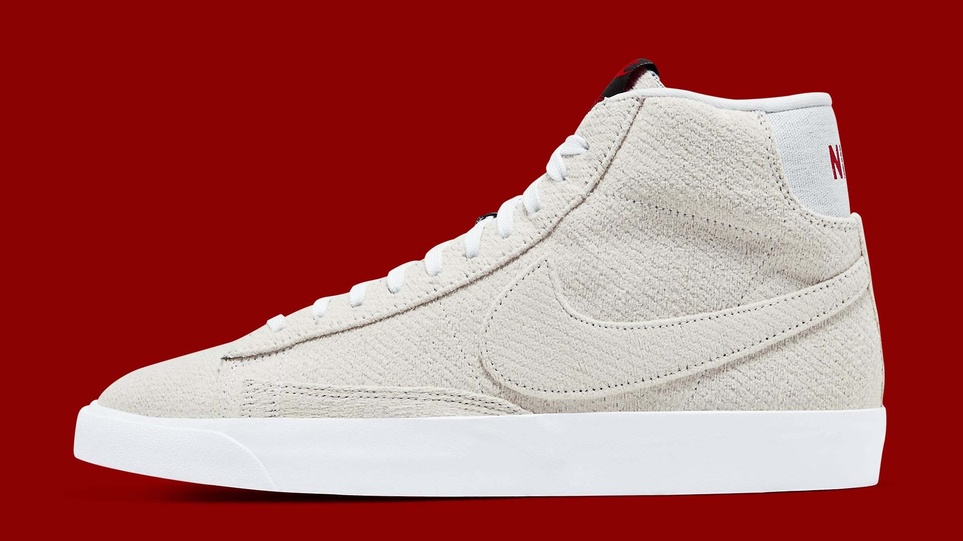 Stranger Things x Nike Blazer Mid 'Starcourt Mall' CJ6102-100 Lateral