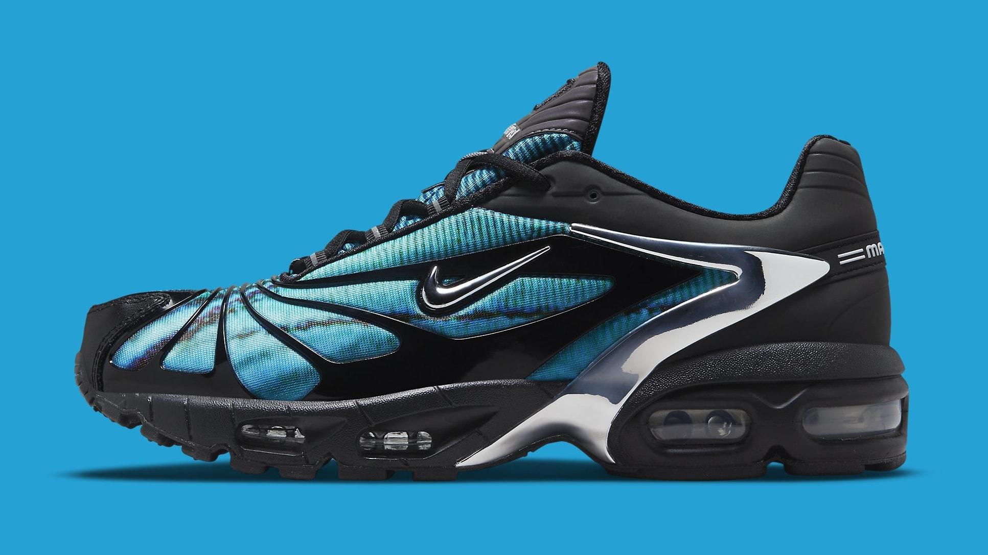Skepta x Nike Air Tailwind V 'Blue' CQ8714-001 Lateral