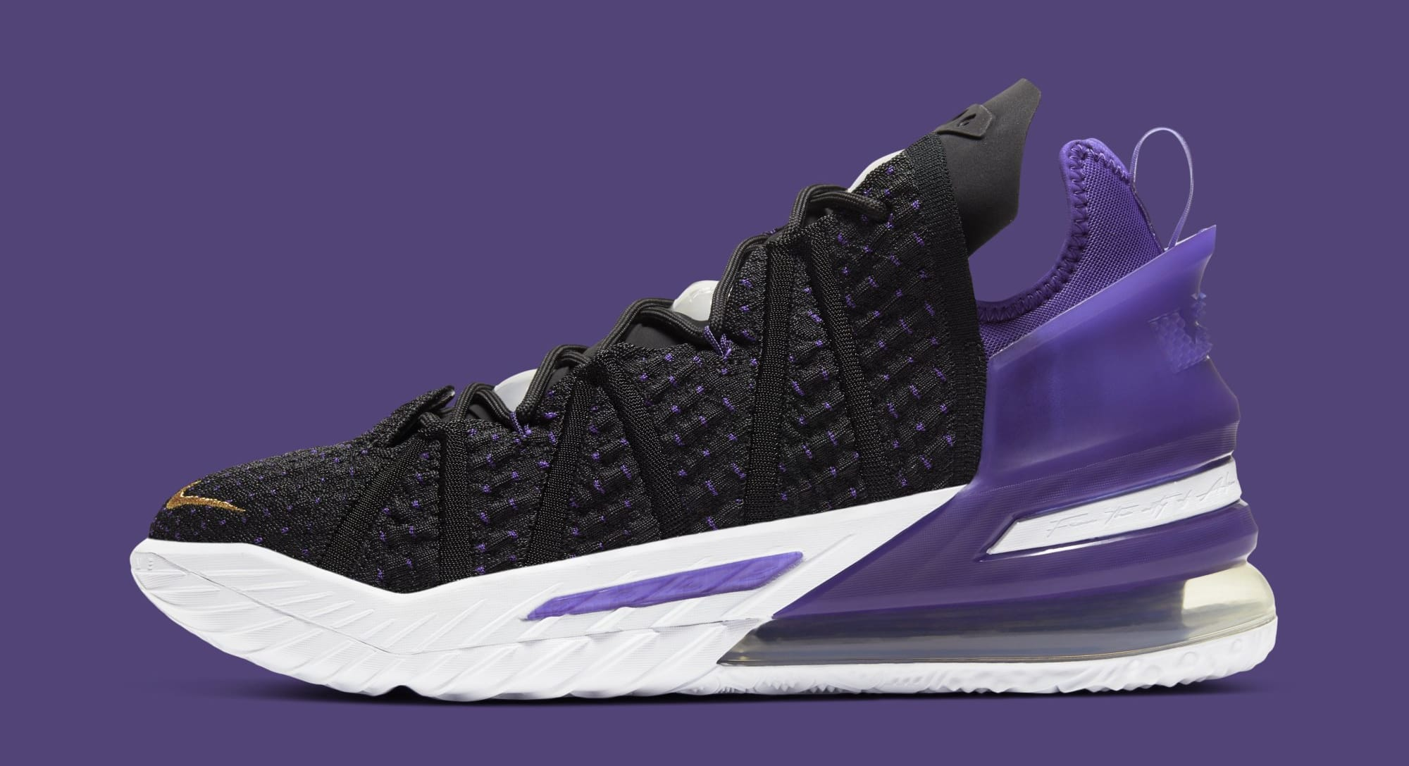 Nike LeBron 18 'Lakers' CQ9283-004 Lateral