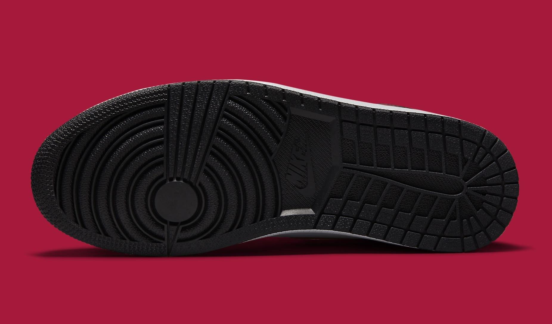 Air Jordan 1 Light Fusion Red Release Date 555088-603 Sole