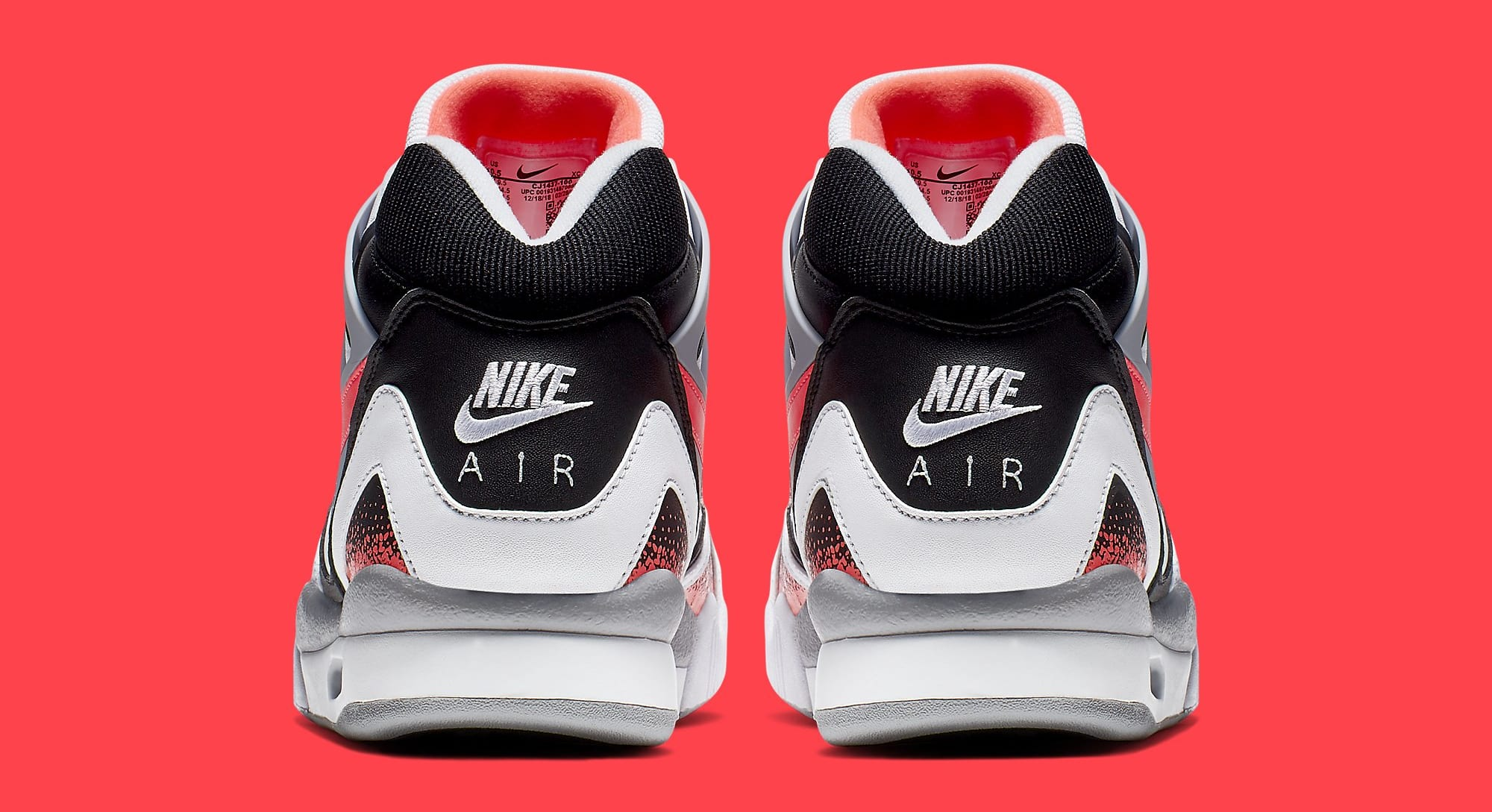 Nike Air Tech Challenge 2 'Hot Lava' CJ1437-100 (Heel)
