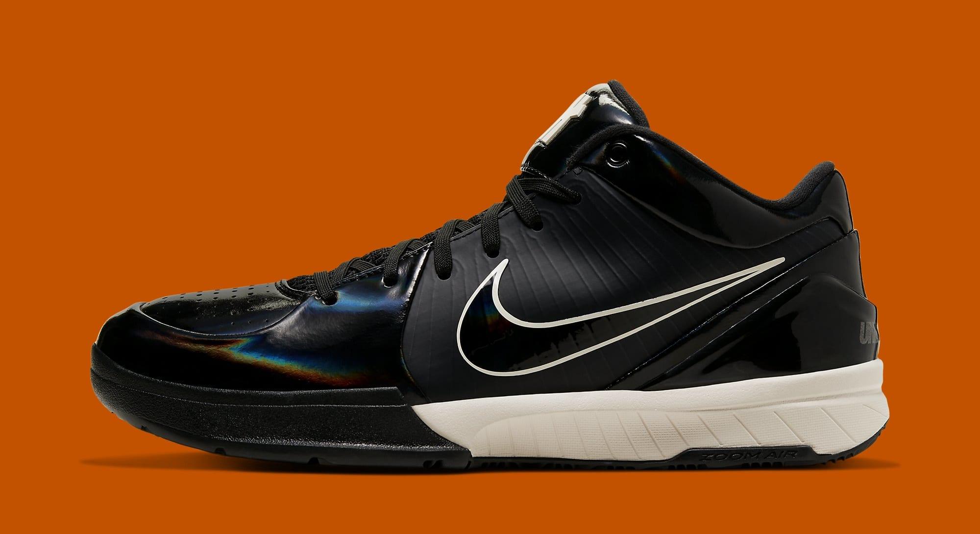 Undefeated x Nike Kobe 4 Protro 'Black Mamba' CQ3869-001 (Lateral)