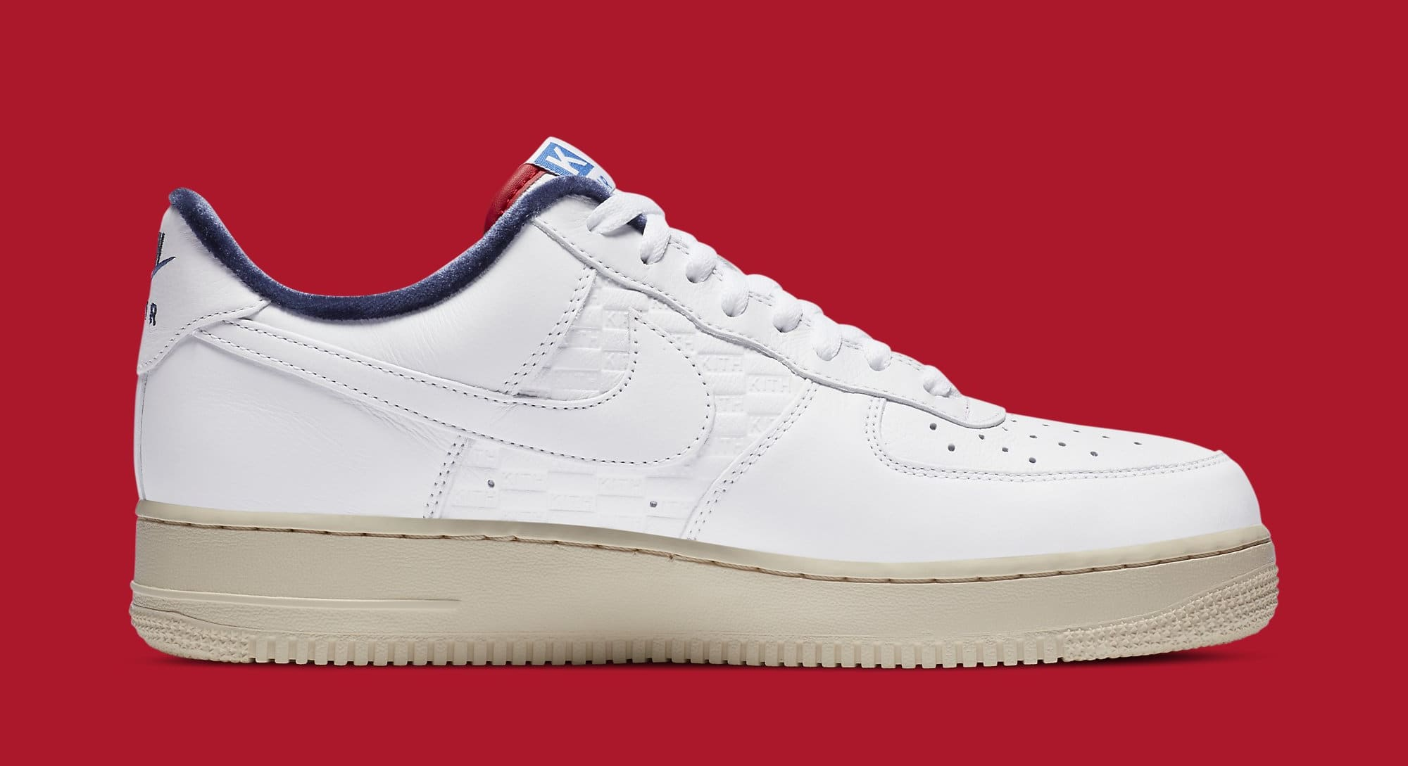 Kith x Nike Air Force 1 Low CZ7927-100 Medial