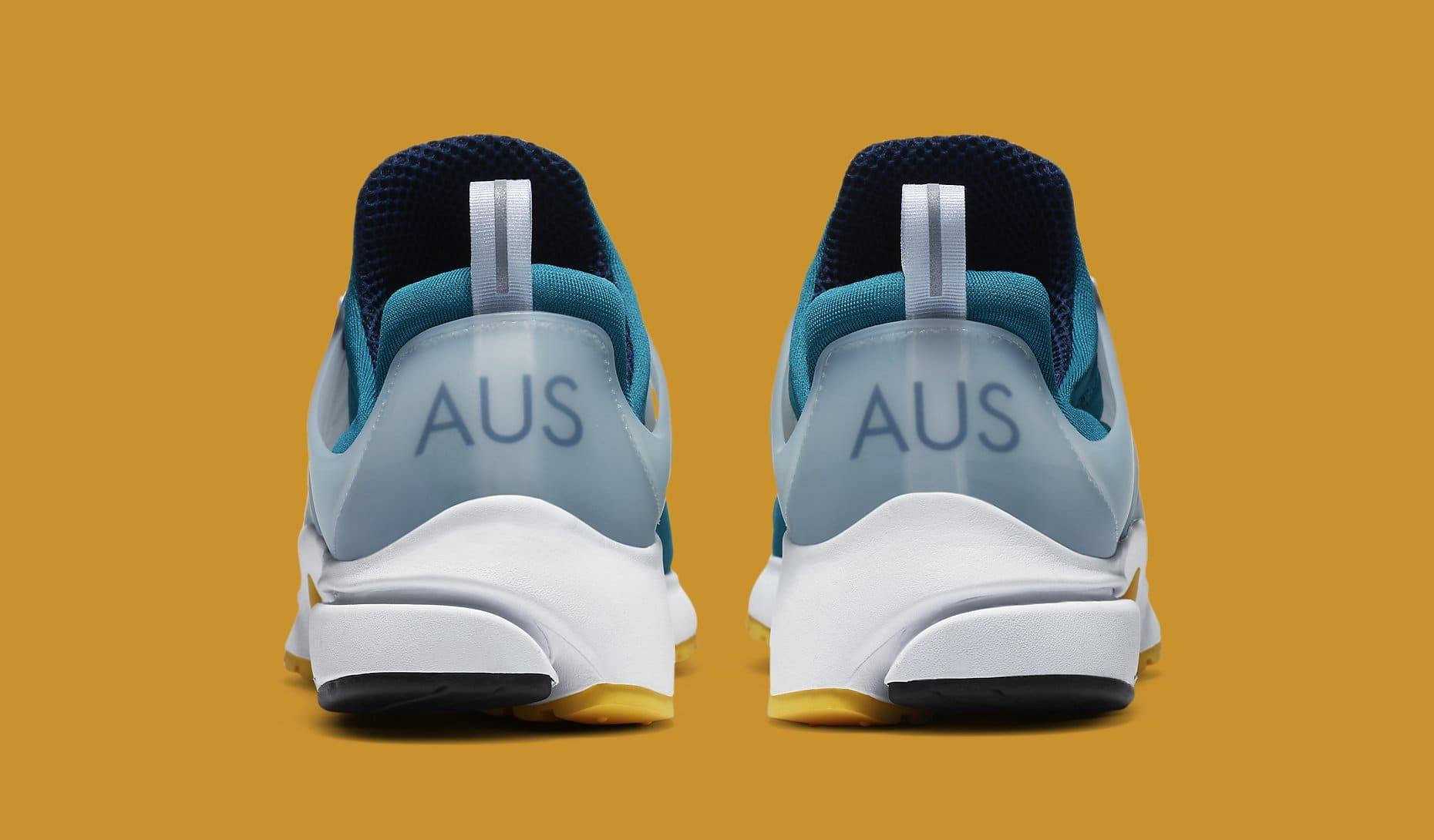 Nike Air Presto 'Australia' 2020 CJ1229-301 Heel