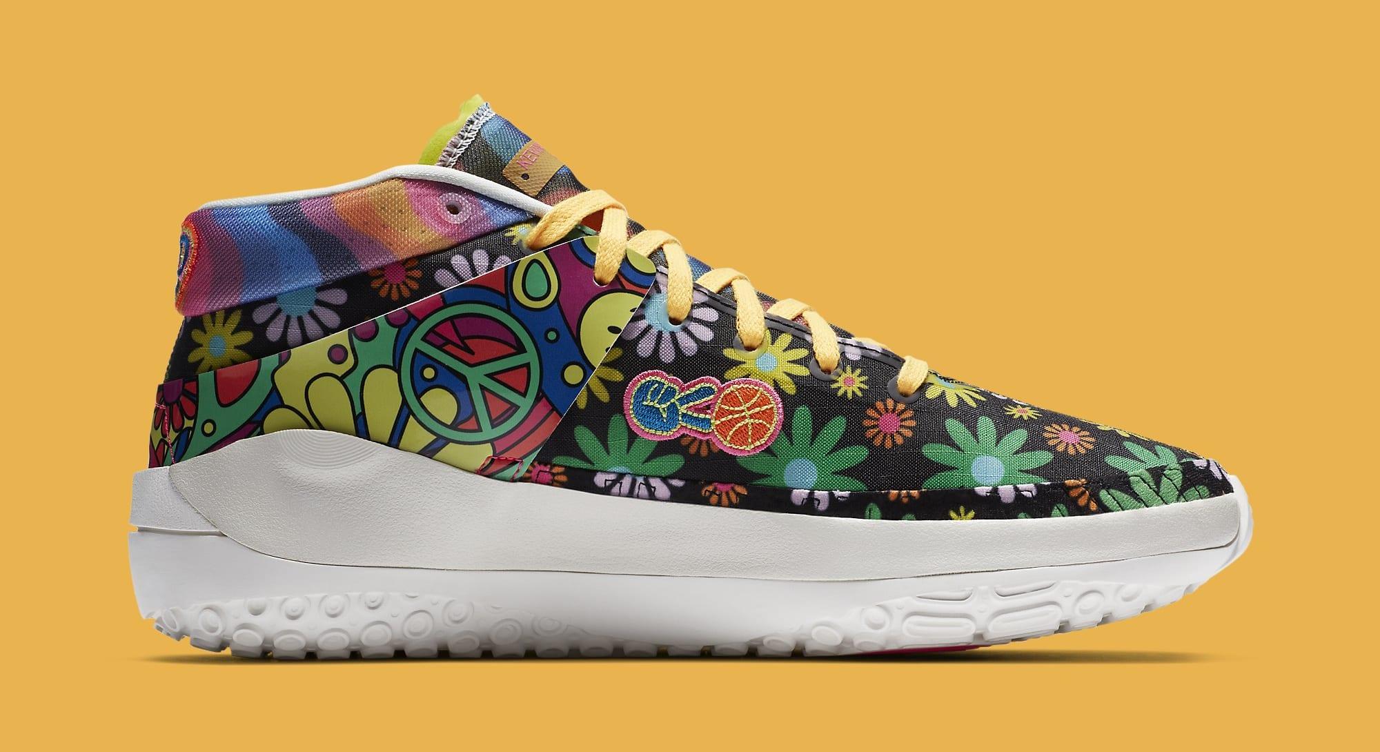 Nike KD 13 'Peace, Love, and Basketball' DA1341-100 Medial