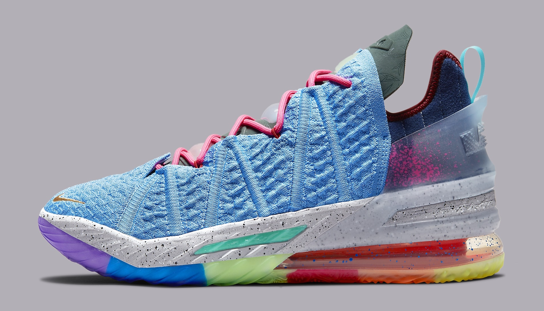 Nike LeBron 18 'Best 1-9' DM2813 400 Lateral