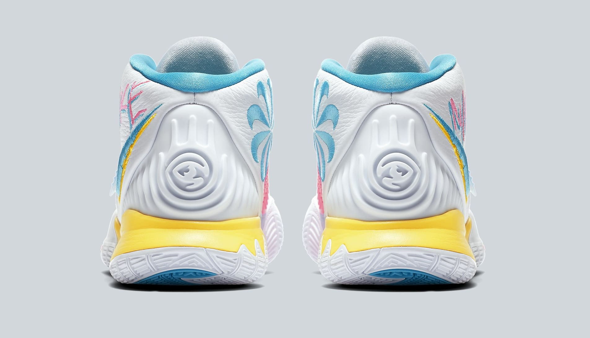 Nike Kyrie 6 'Neon Graffiti' BQ4630-101 Heel