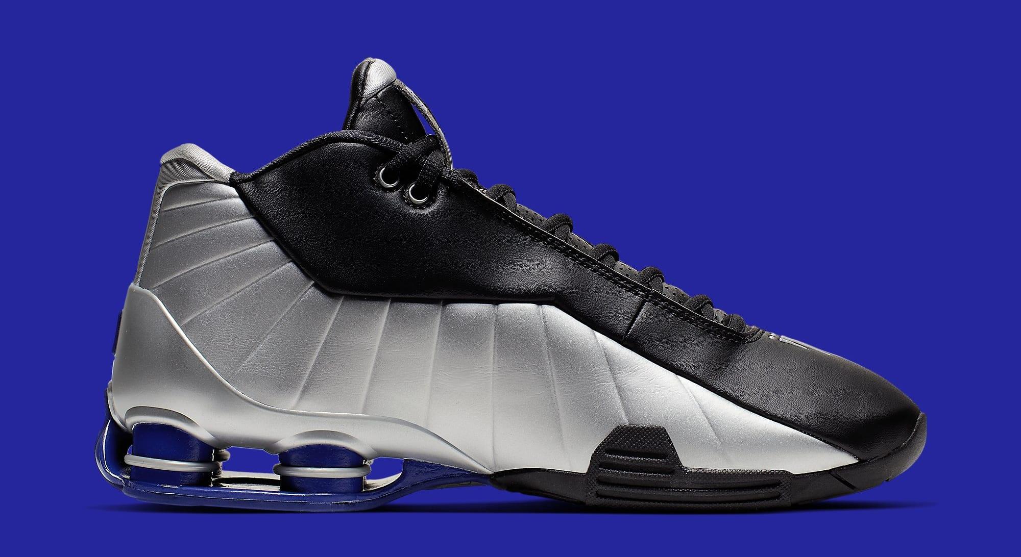 Nike Shox BB4 OG 'Metallic Silver' AT7843-001 Medial