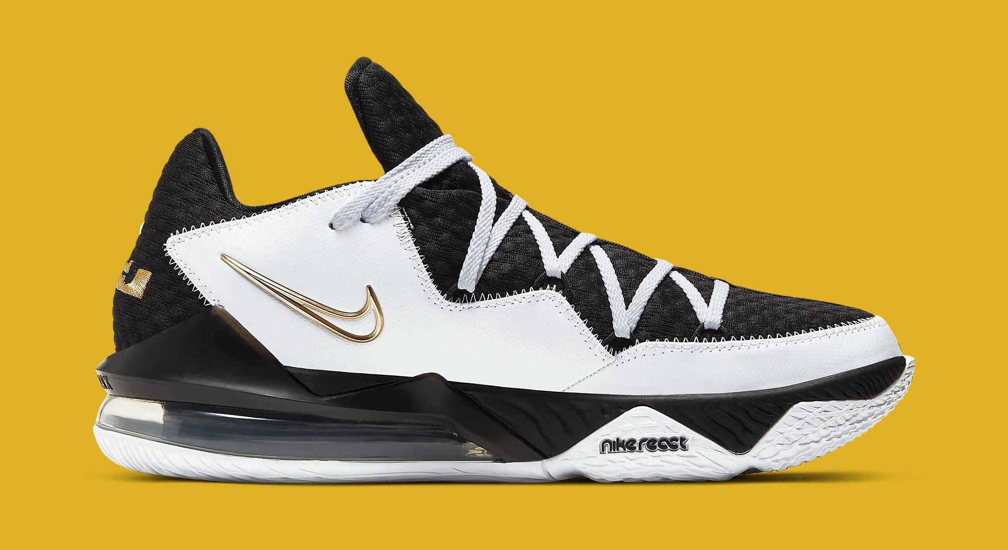 Nike LeBron 17 Low 'Metallic Gold' CD5007-101 Medial