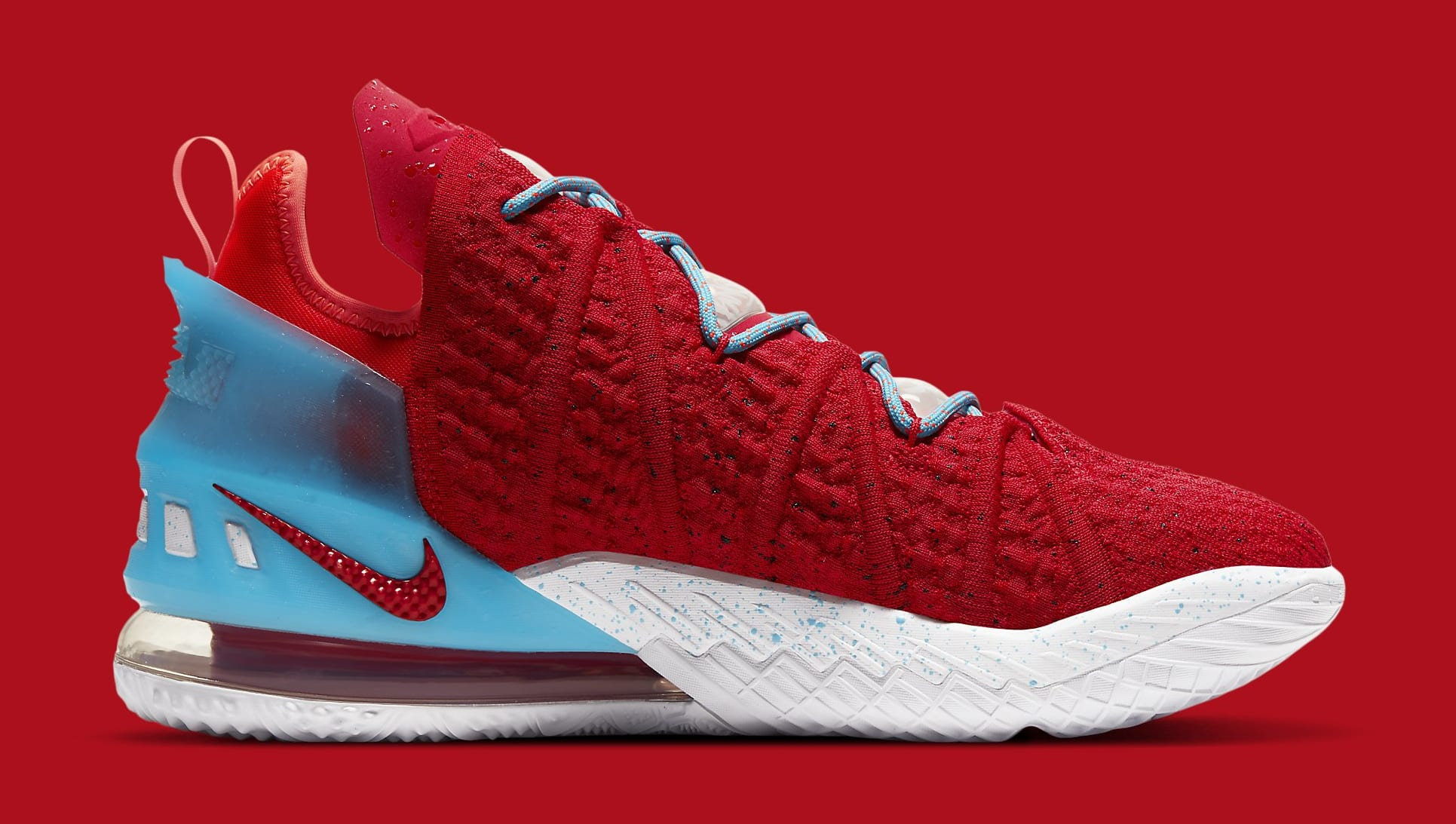 Nike LeBron 18 'Chinese New Year' CW3155-600 Medial