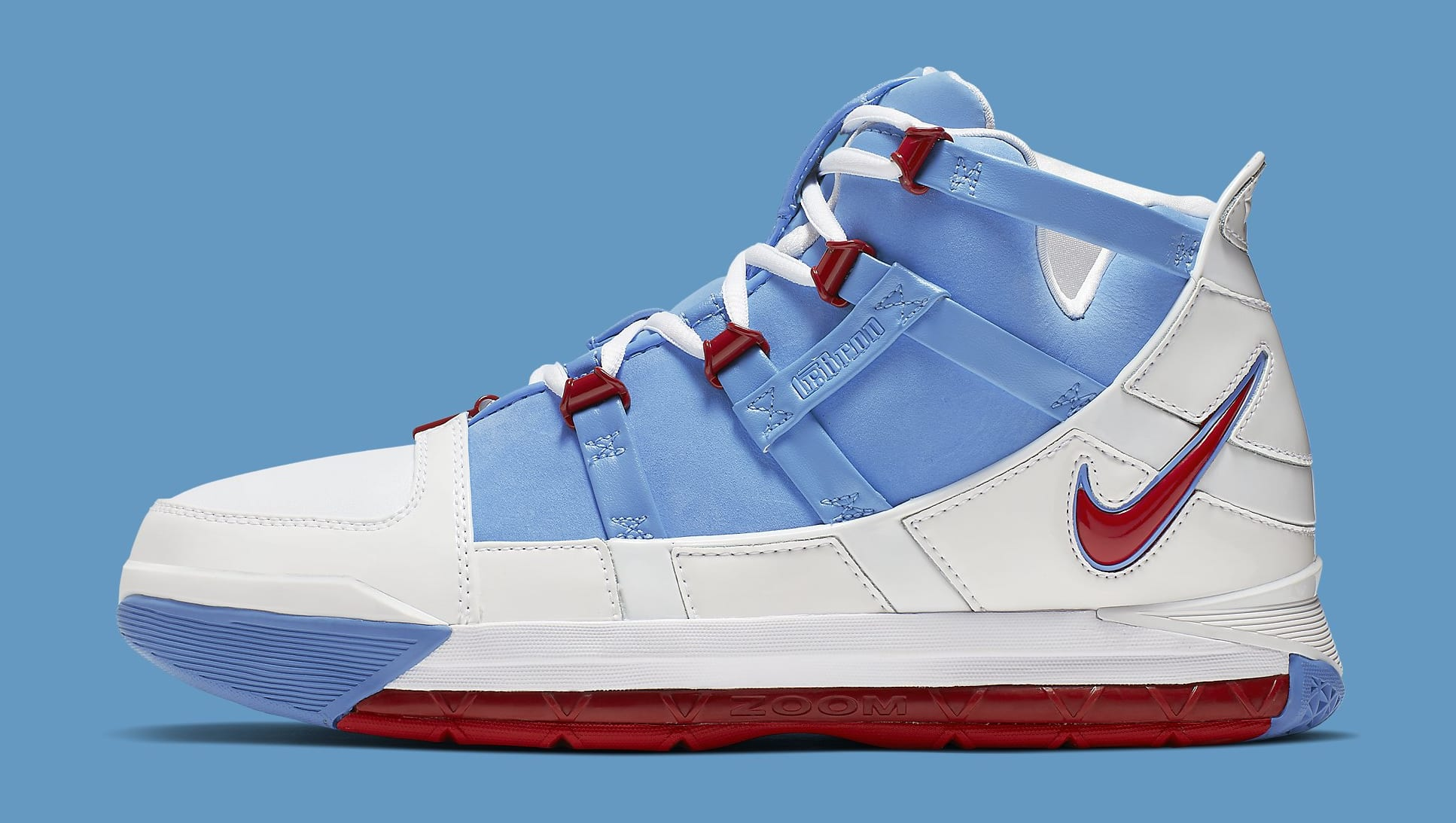 Nike Zoom LeBron 3 QS 'Houston All-Star' AO2434-400 Lateral