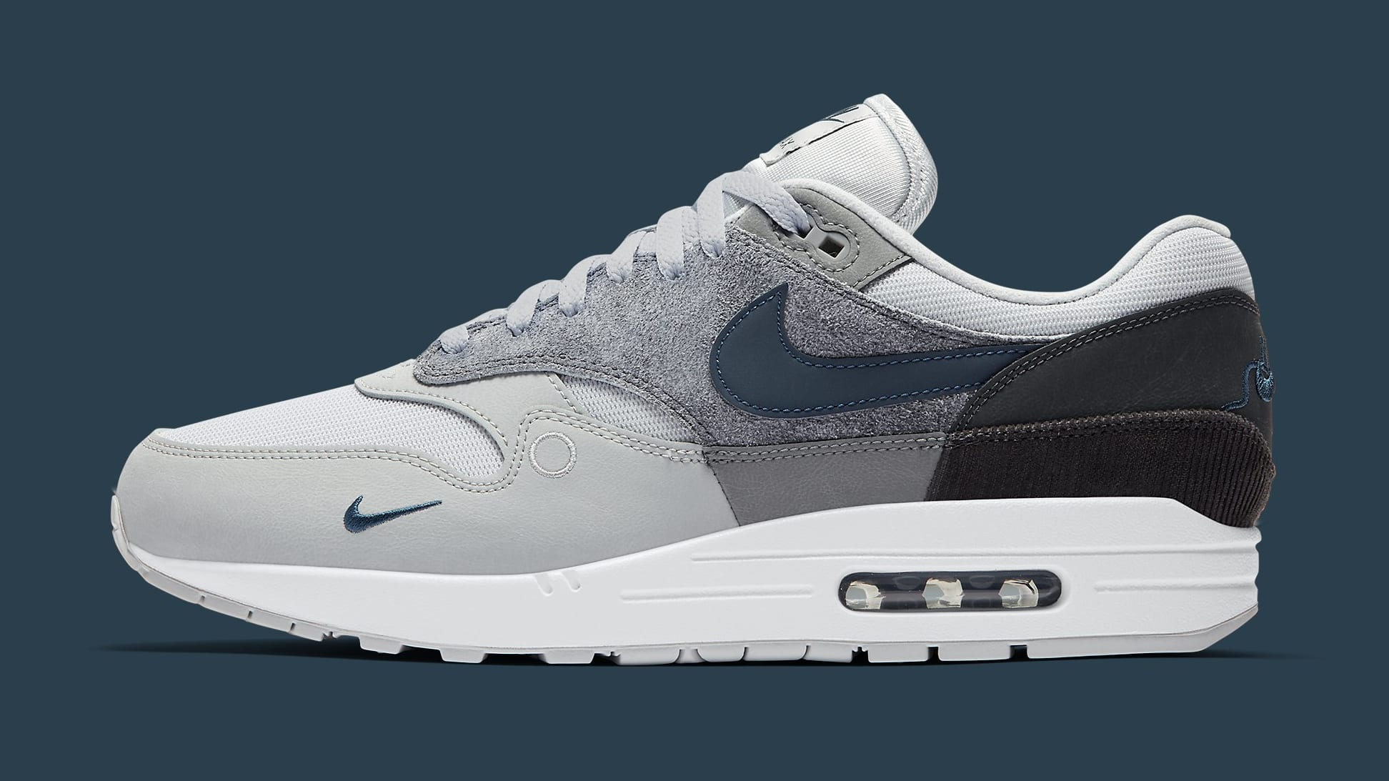 Nike Air Max 1 'City Pack' London CV1639-001 Lateral