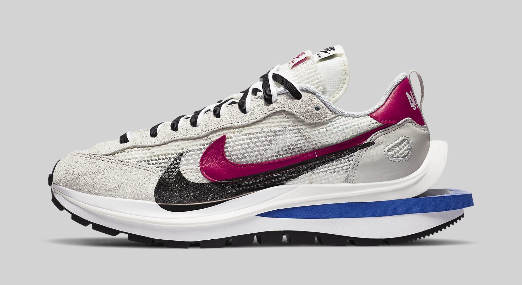 Sacai x Nike VaporWaffle 'Sail' CV1363-100 Lateral