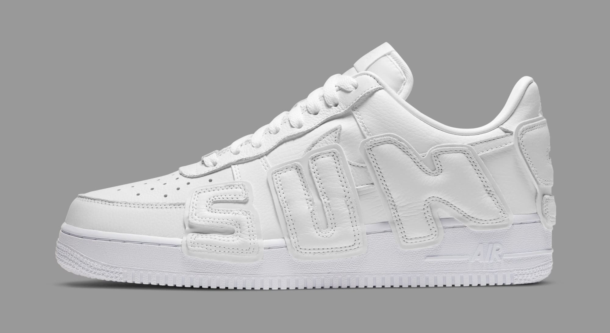 Cactus Plant Flea Market x Nike Air Force 1 Low 'White' DD7050-100 Lateral