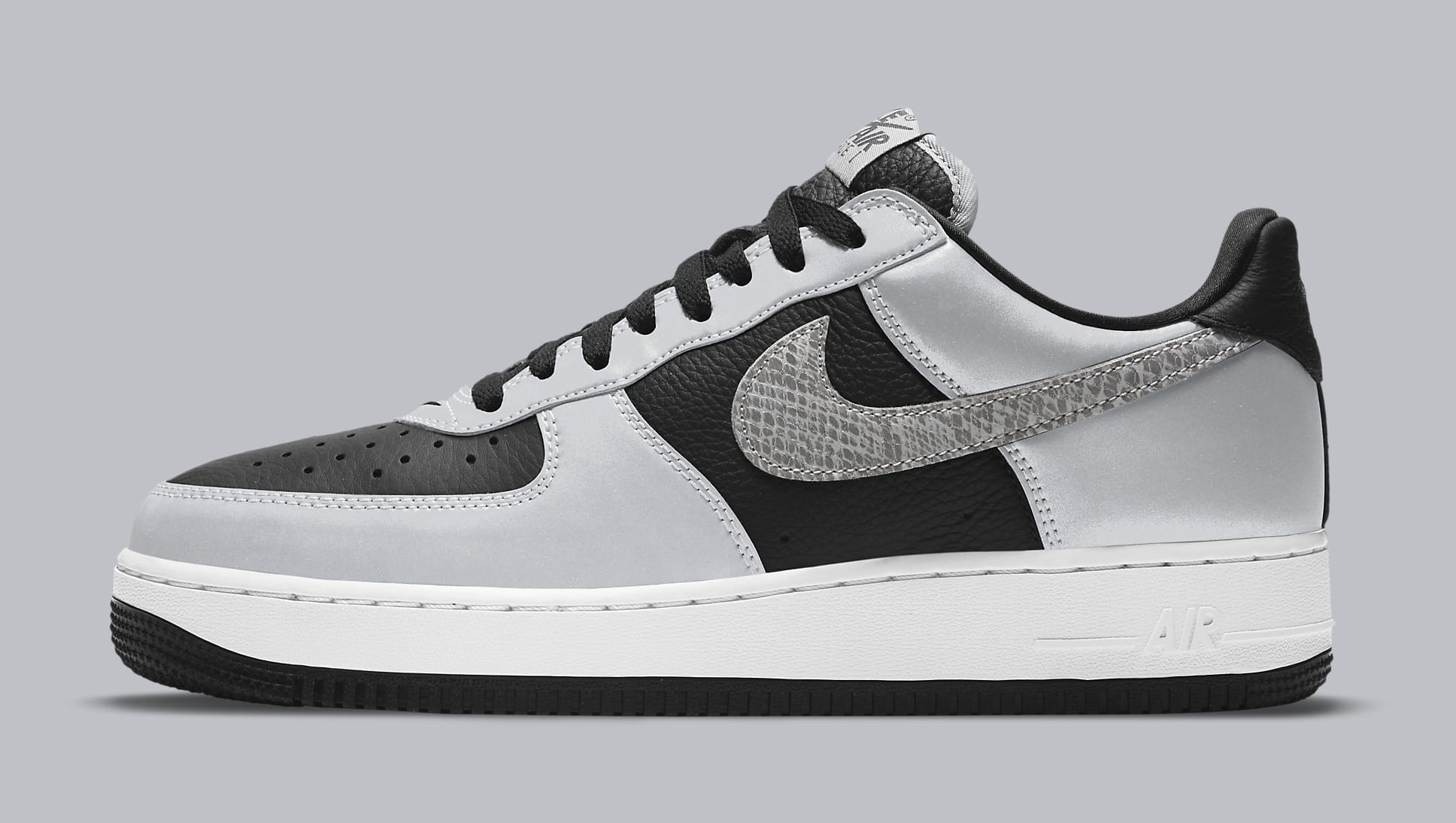 Nike Air Force 1 Low '3M Snake' DJ6033-001 Lateral