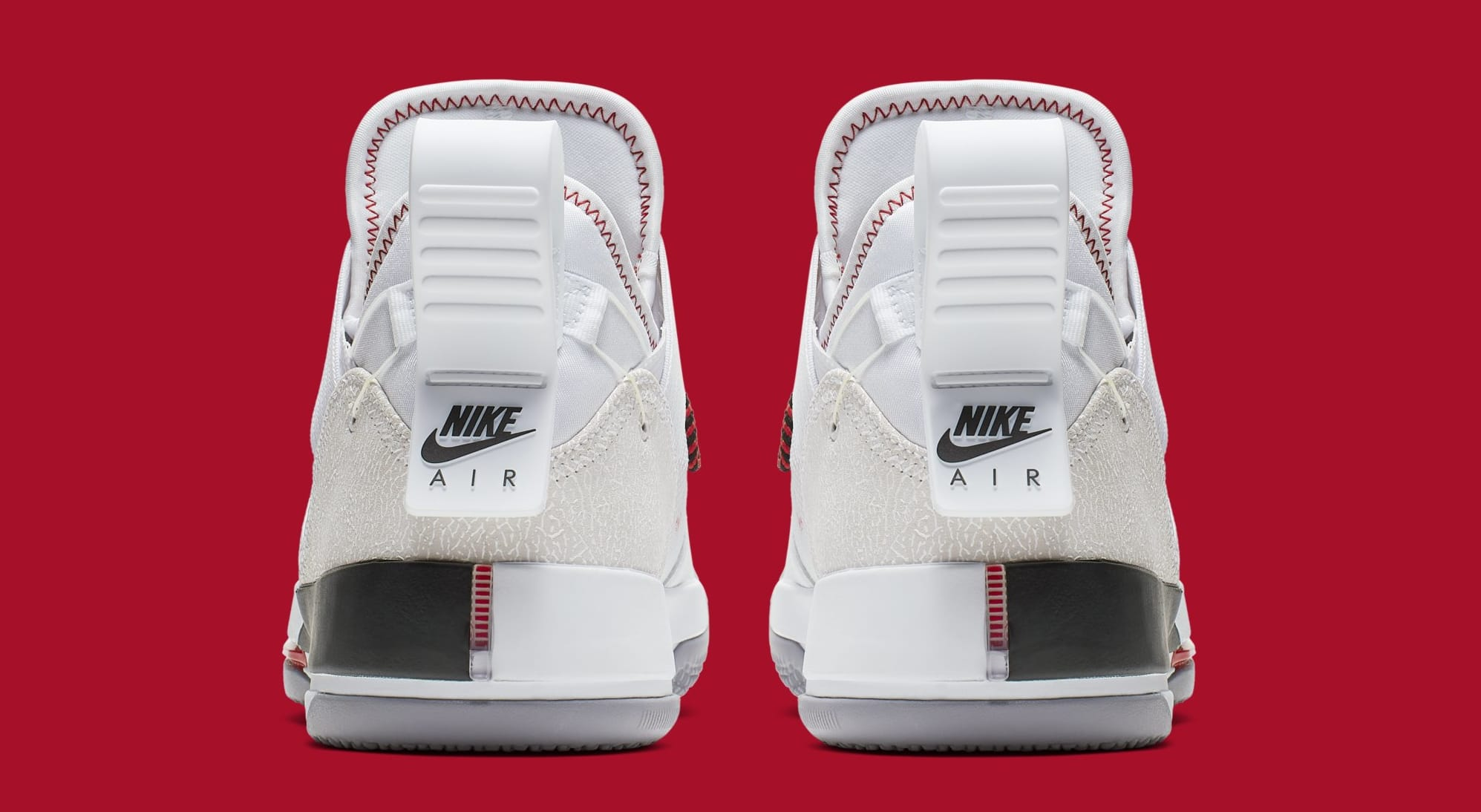 online retailer f85c3 a6350 Image via Nike Air Jordan 33 Low SE CD9560-106 (Heel)