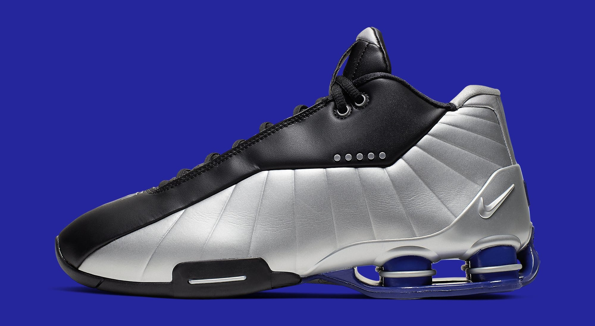 Nike Shox BB4 OG 'Metallic Silver' AT7843-001 Lateral