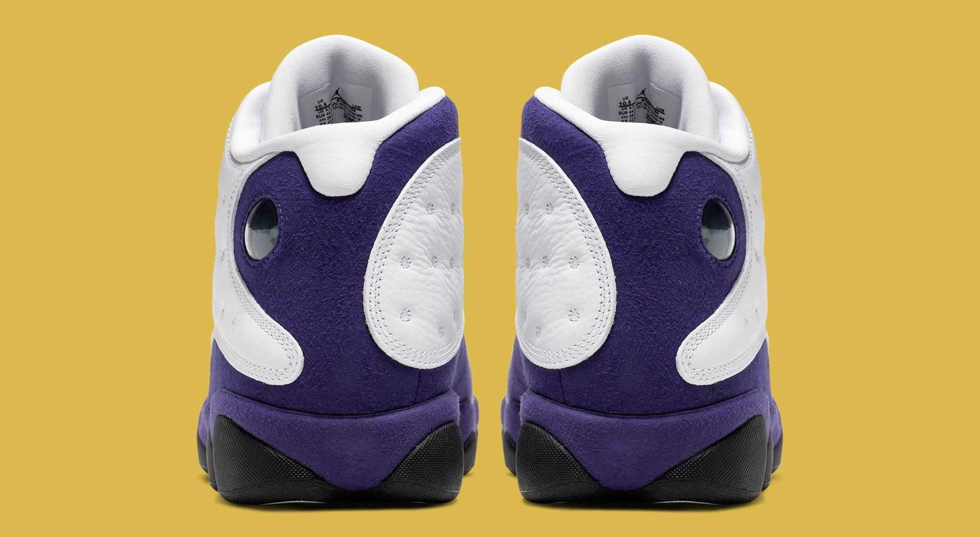 super popular a4b6e 46224 Air Jordan 13 'Lakers' White/Black-Court Purple-University ...
