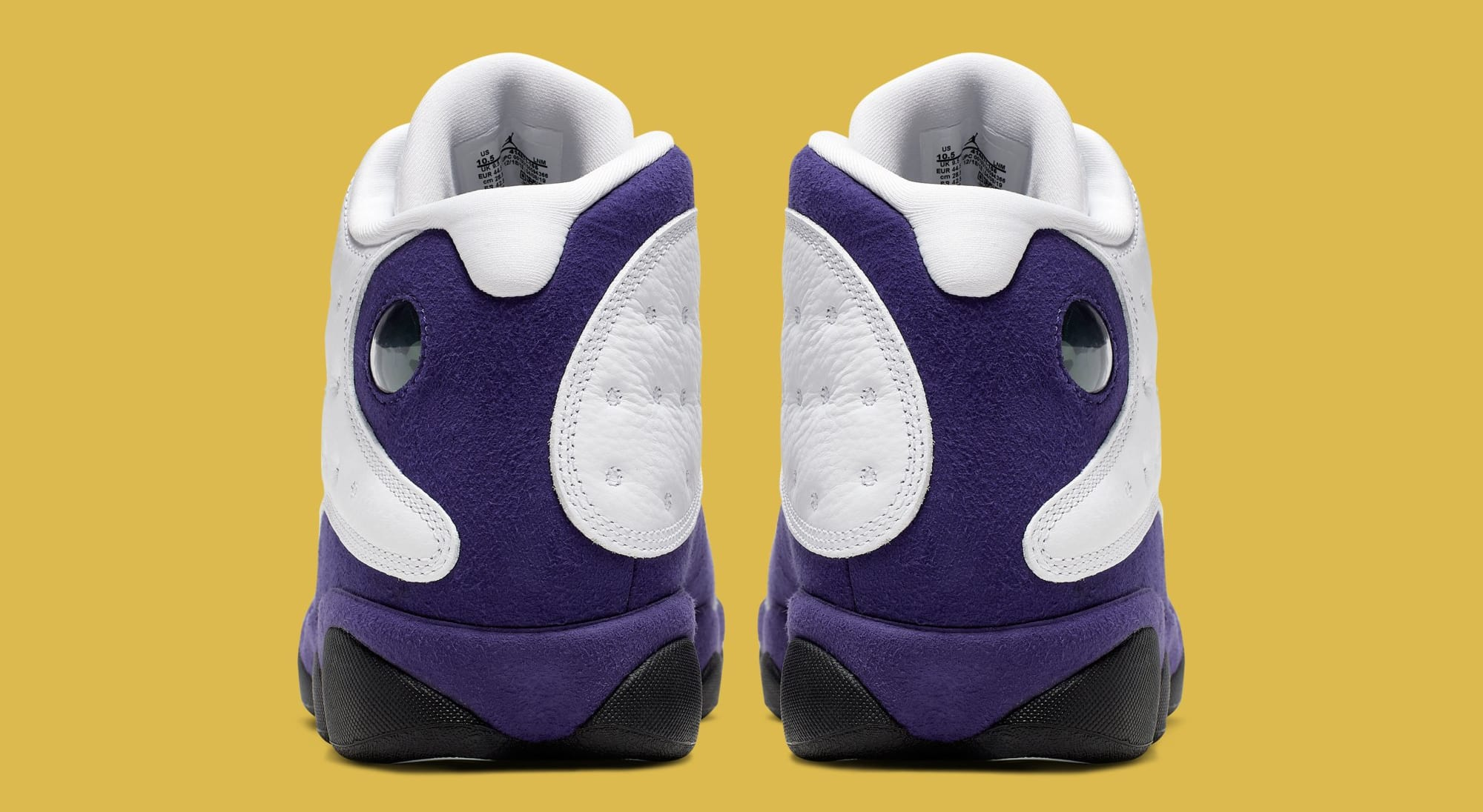 """Lakers"" Air Jordan 13 Retro Drops Next Weekend: Official Photos"