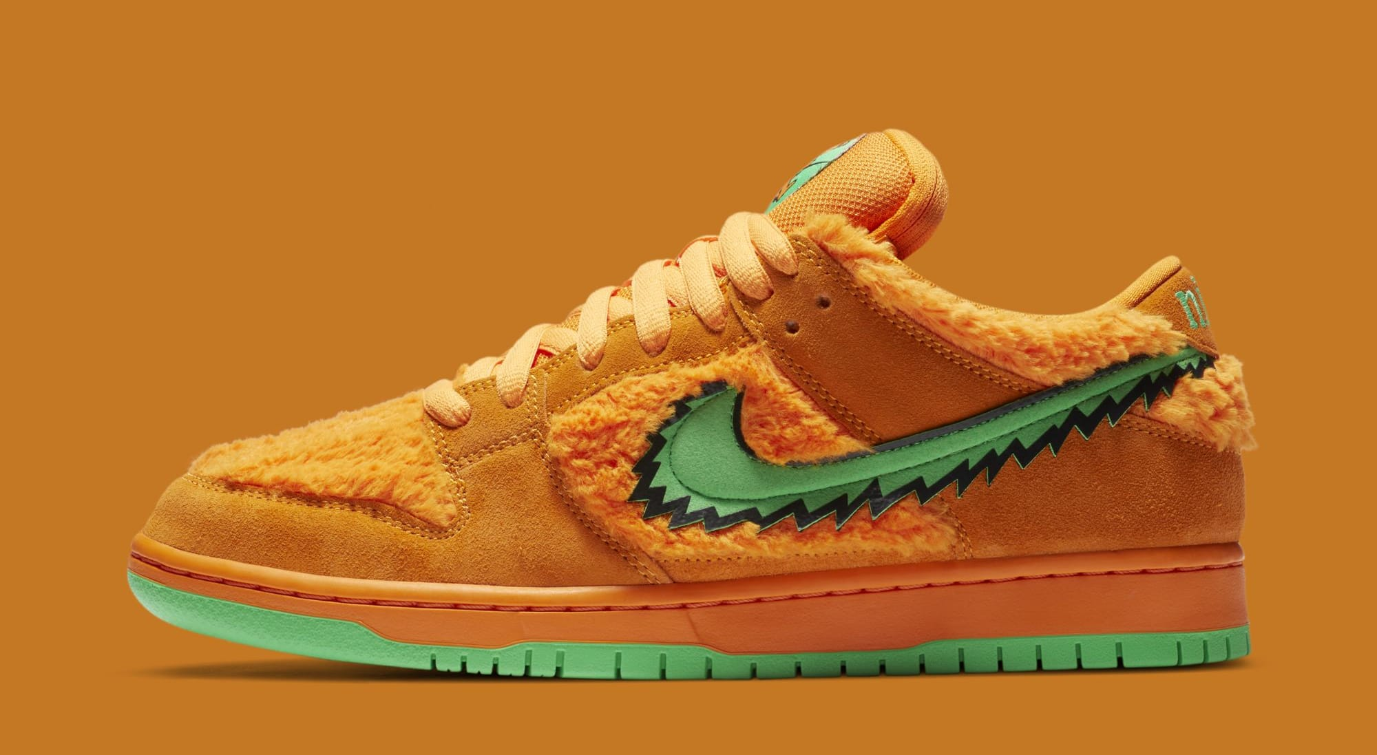 Grateful Dead x Nike SB Dunk Low 'Orange' CJ5378-800 (Lateral)