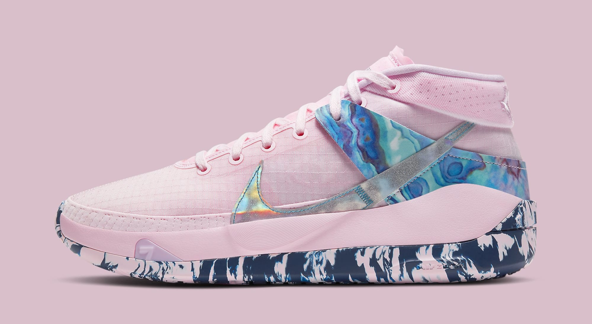 Nike KD 13 'Aunt Pearl' DC0011-600 Lateral
